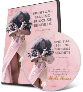 Spiritual Selling Secrets - Don't Fear Change