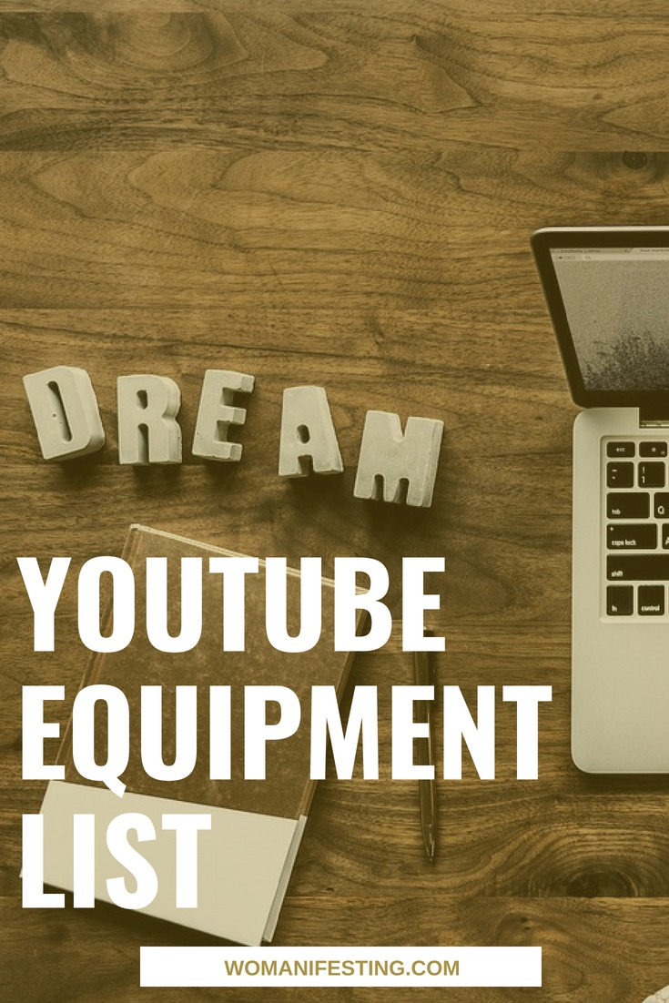 YouTube Equipment List