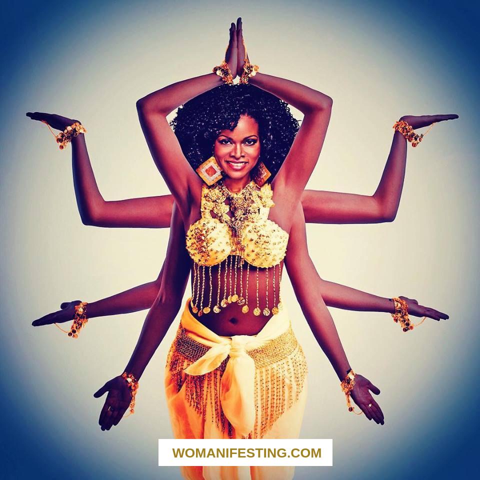 Abiola Abrams Multi Arm Goddess