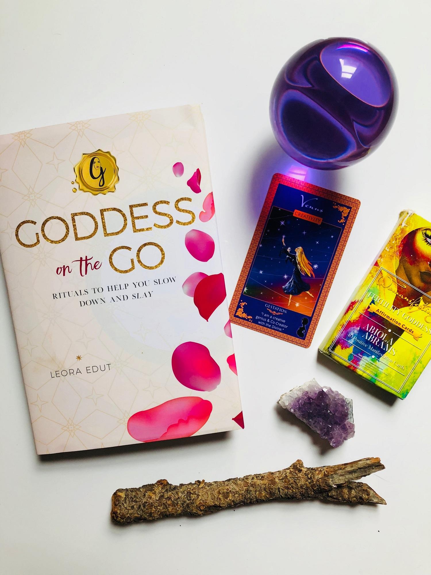 Goddess on the Go by Leora Edut