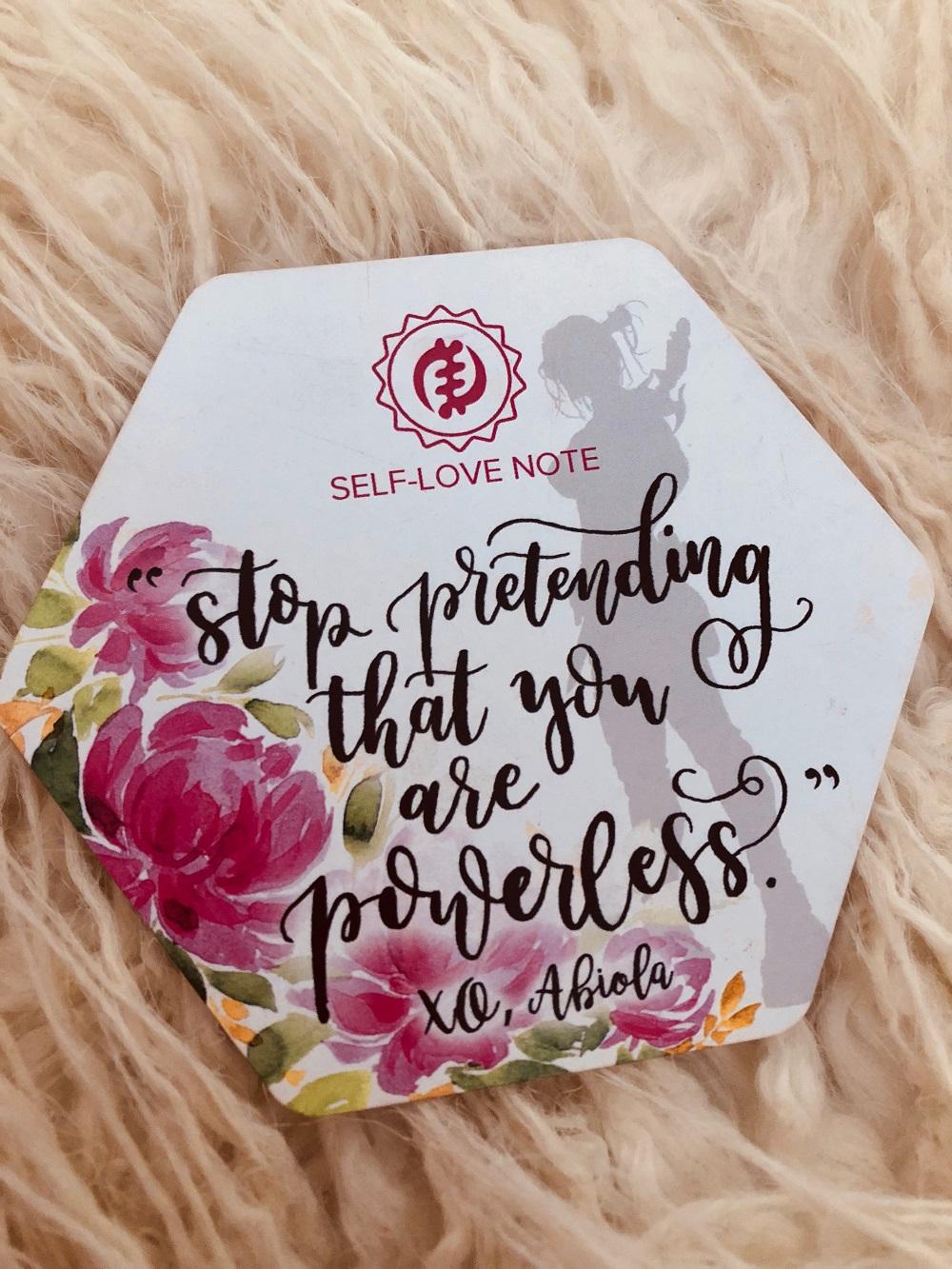 Sacred Bombshell Self-Love Journal Cards - Abiola Abrams
