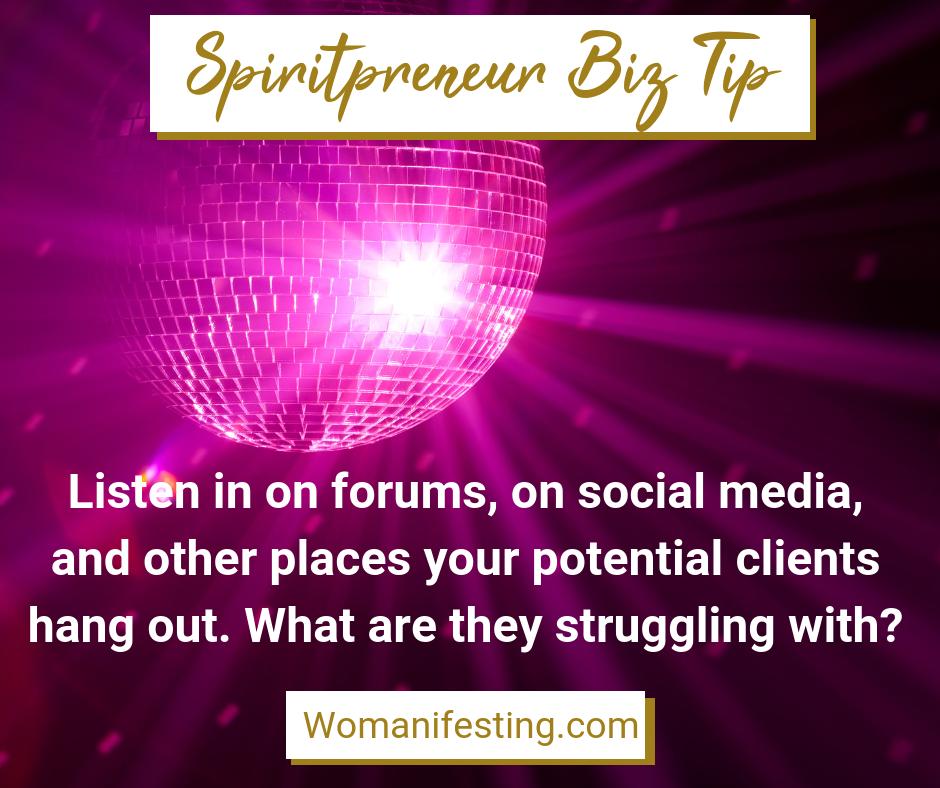 Spiritpreneur Biz Tip 23