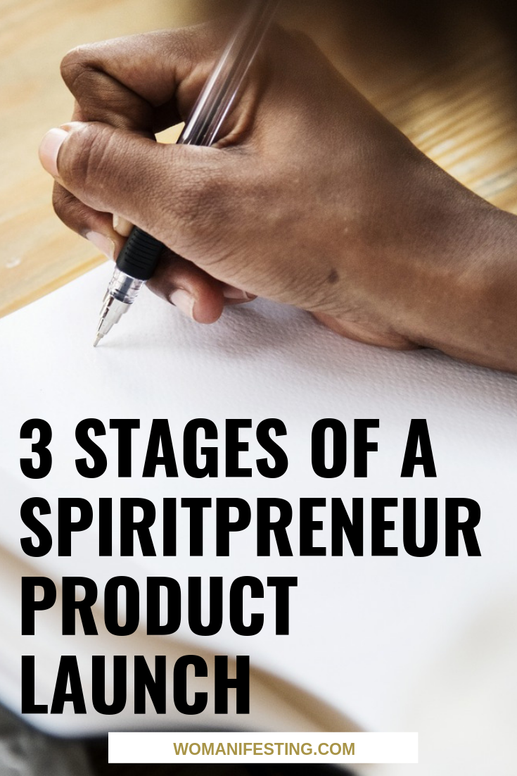 3 Stages of a Spiritual Product Launch