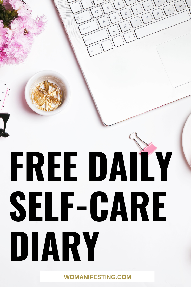 Free Daily Self-Care Diary