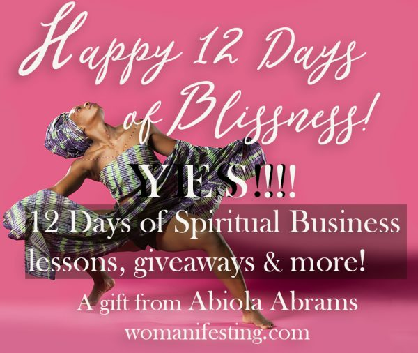 Celebrate - 12 days of blissness