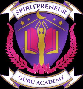 spiritpreneur guru academy logo - emblem coat of arms