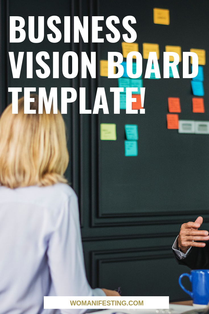 Business Vision Board Template!