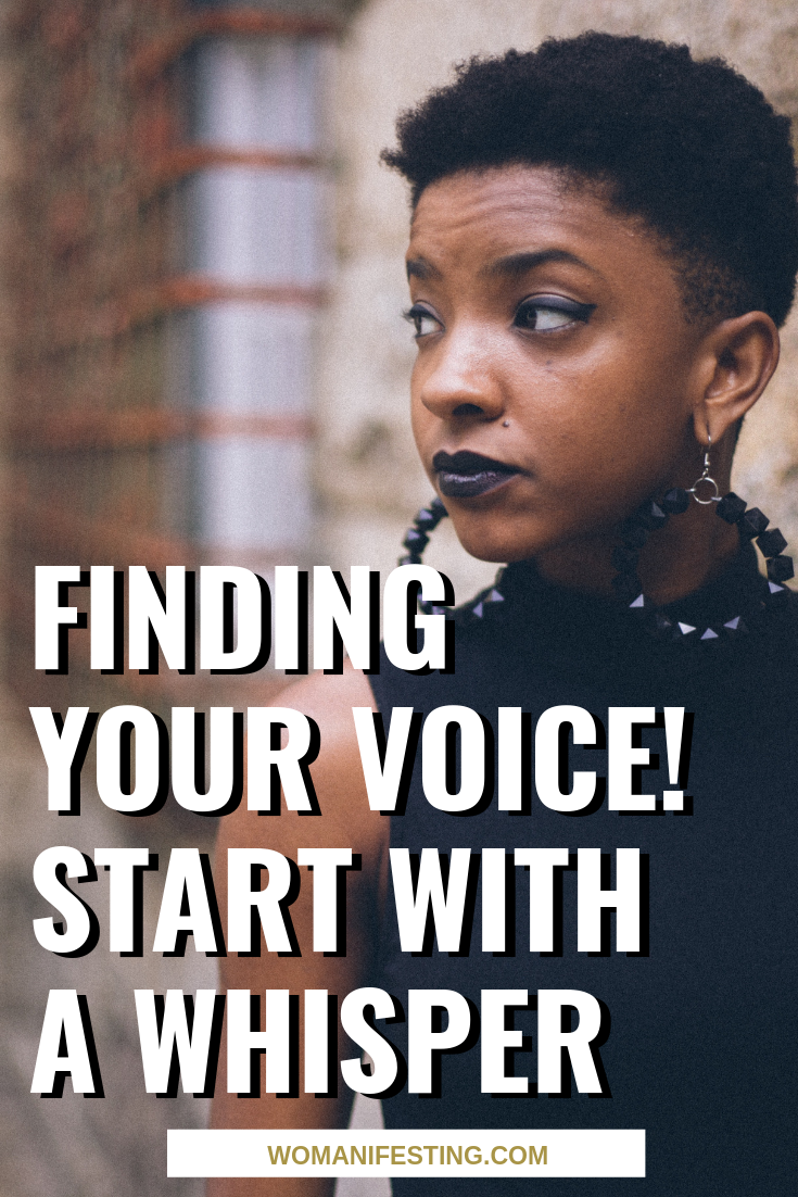 Finding Your Voice! Start with a Whisper