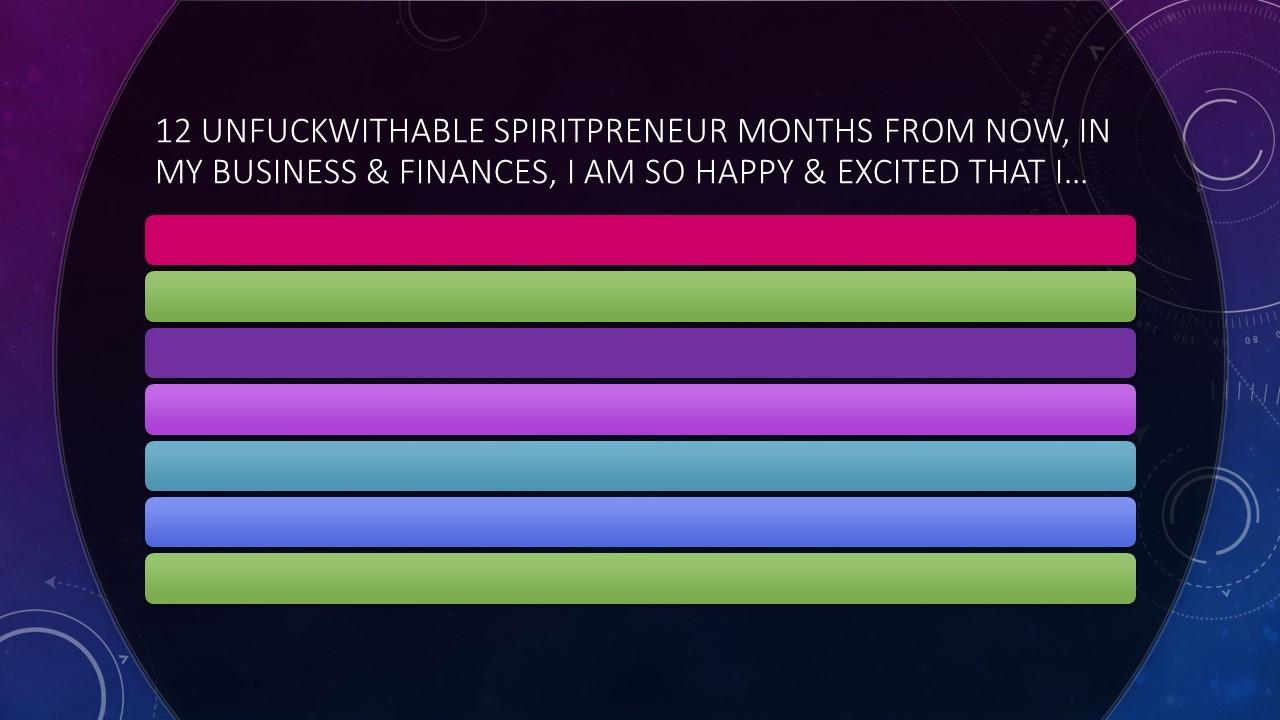 Characteristics of a Spiritual Entrepreneur
