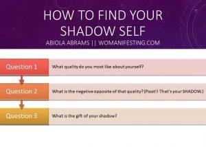 shadow work exercises worksheet
