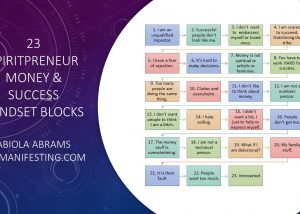 Spiritpreneur Money Blocks and Success Limiting Beliefs