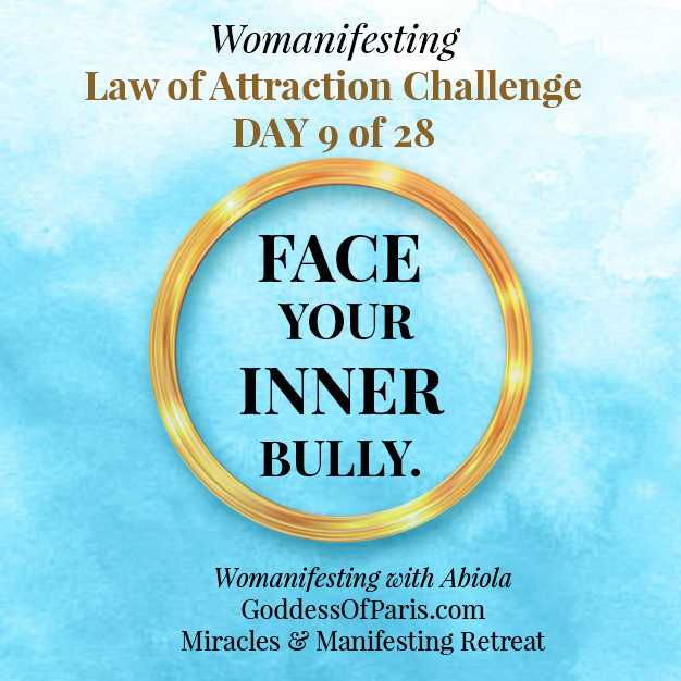 face your inner bully - law of attraction challenge