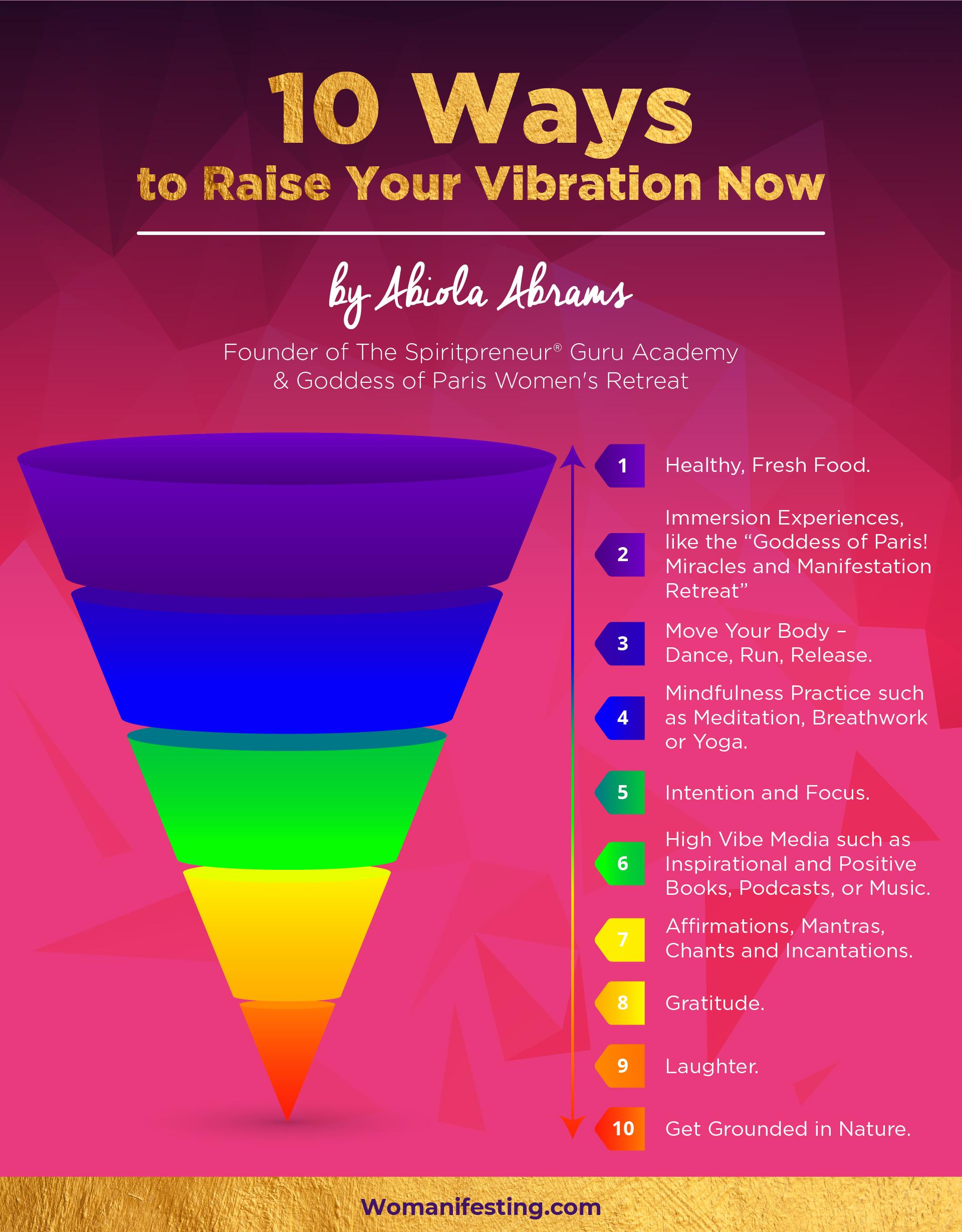 High Vibe Secrets Raising Your Vibration