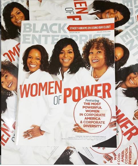 black women of power- magazine cover best podcasts - Best Women's Podcasts: The Black Enterprise Magazine List [Audio]