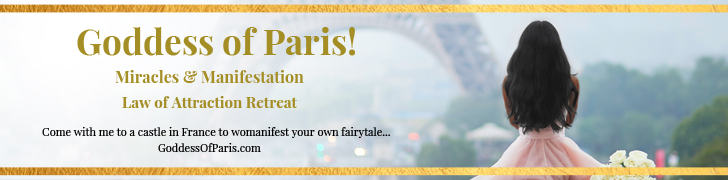 Goddess of Paris Miracles and Manifesting Retreat