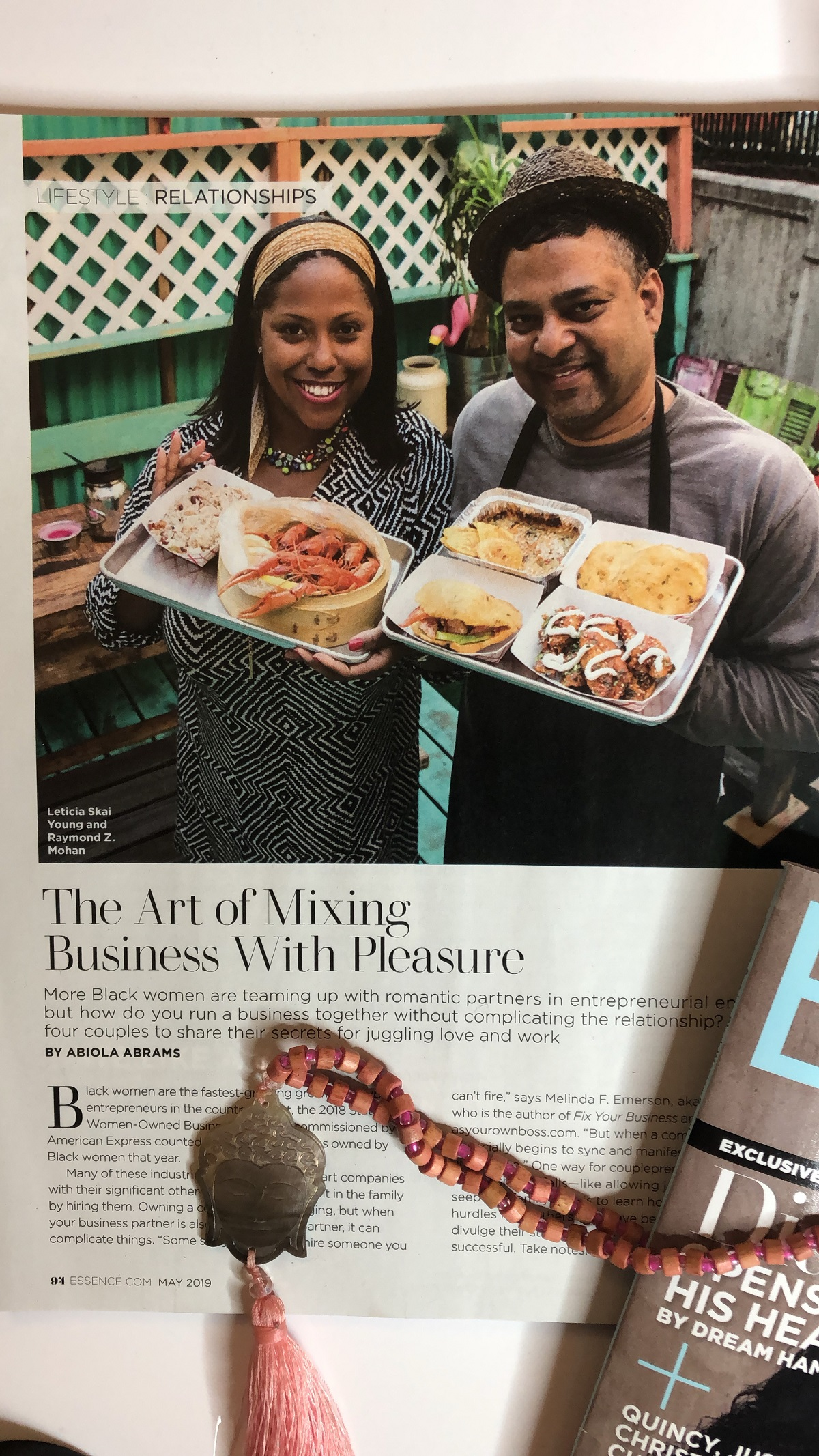 Meet Harlem Couplepreneurs Leticia Young and Raymond Mohan [Essence]