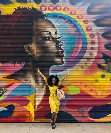 Wellness Blogger Coach Abiola Abrams
