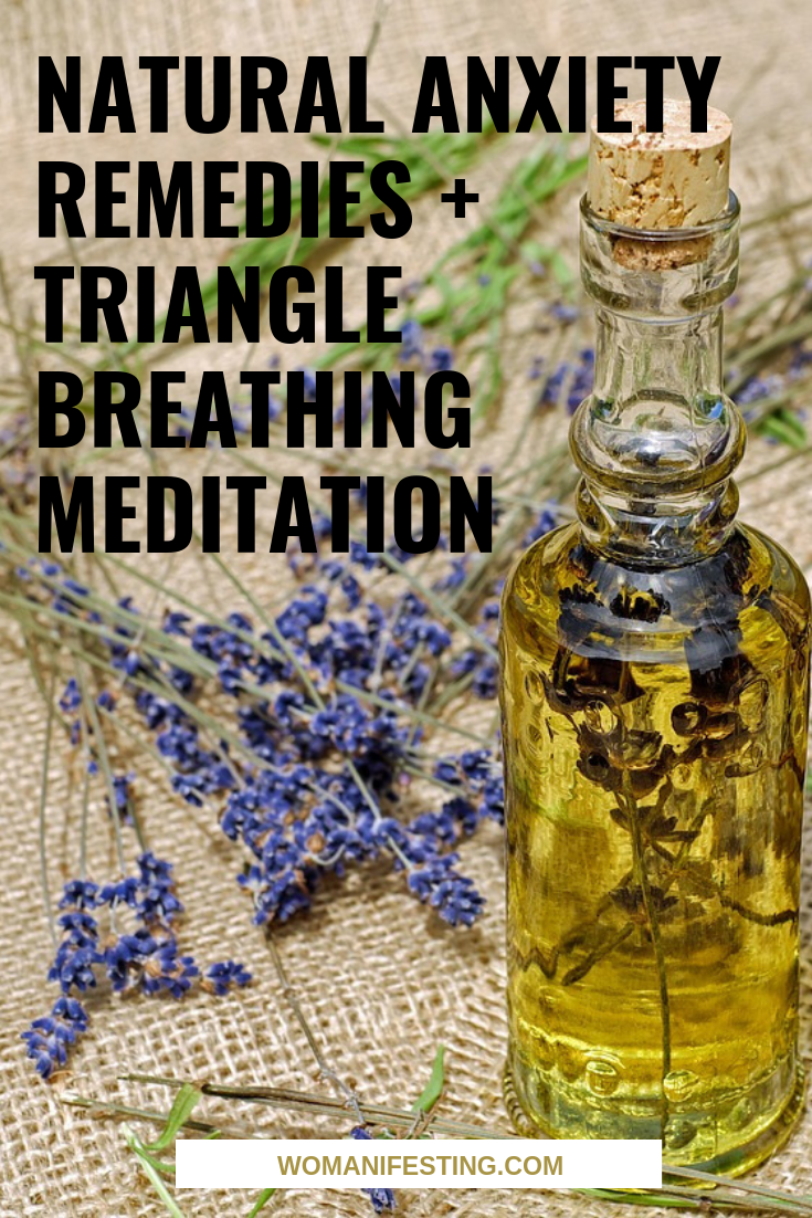 Natural Anxiety, Depression & Mental Health Remedies + Triangle Breathing Meditation [Video]