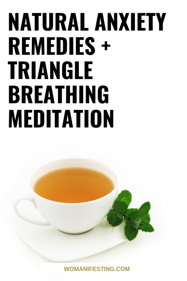 Natural Anxiety Remedies Triangle Breathing Meditation