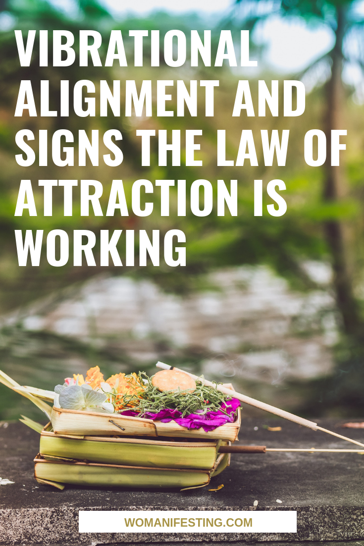 Vibrational Alignment & Signs the Law of Attraction is Working