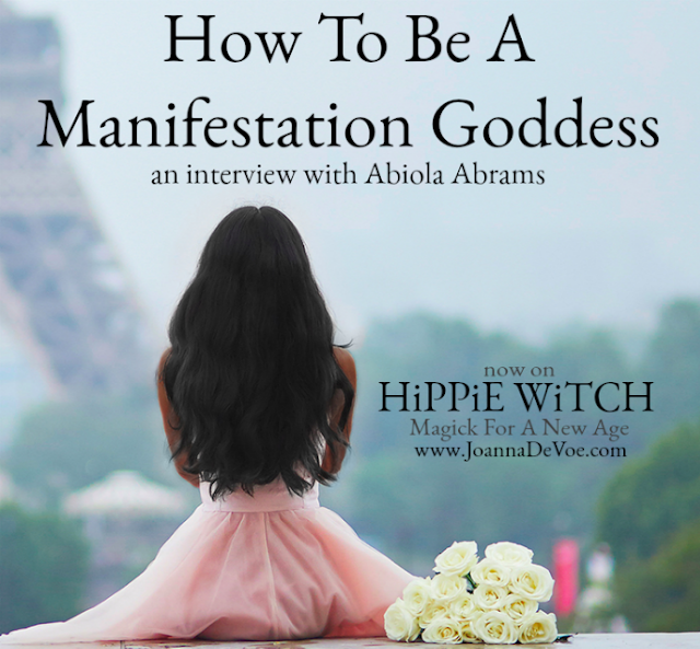 Hippie Witch Joanna DeVoe Interviews Me About Spiritual Manifestation [Audio]