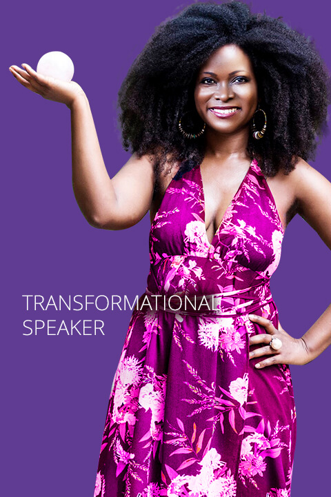 Transformational motivational speaker