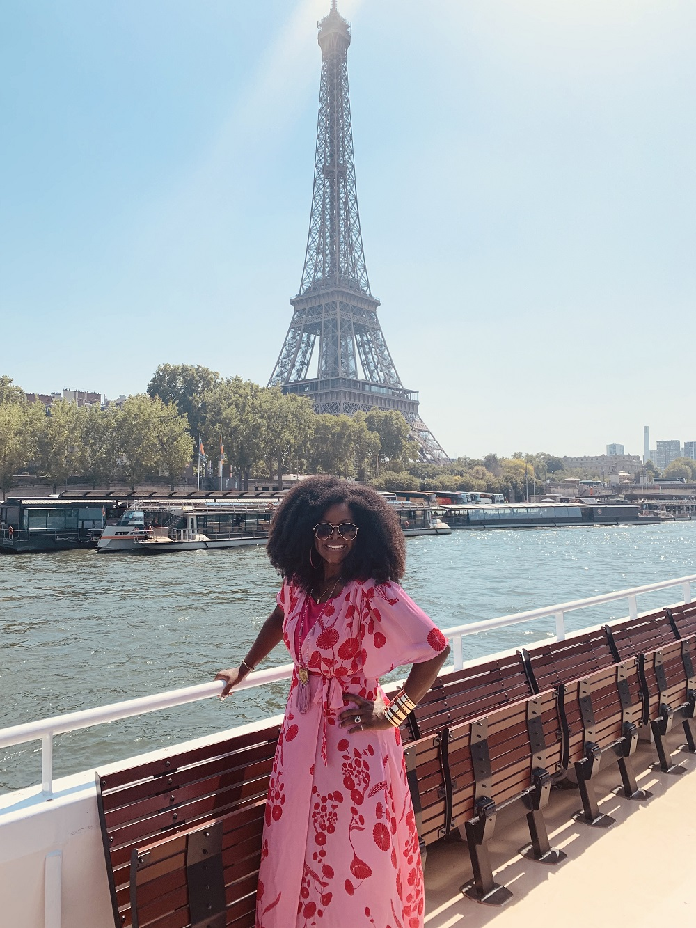 Abiola Abrams in Paris - Goddess Retreat Leader