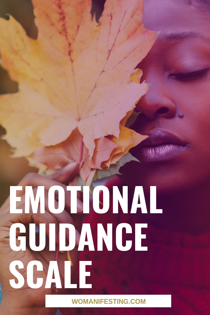Emotional Guidance Scale for Manifesting Magic [Infographics]