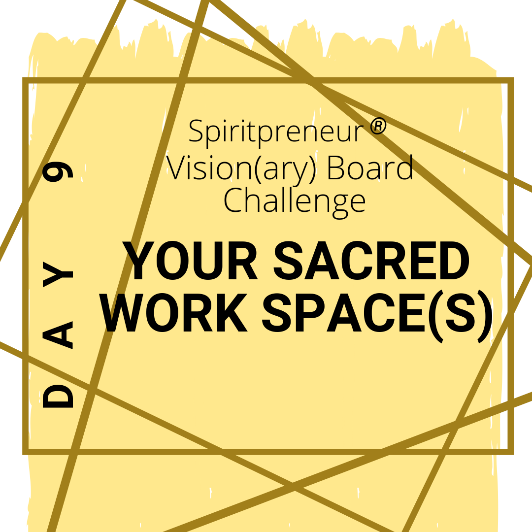 sacred work space - workspaces