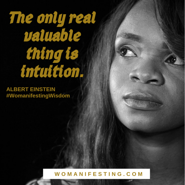 The only real valuable thing is intuition. (1)