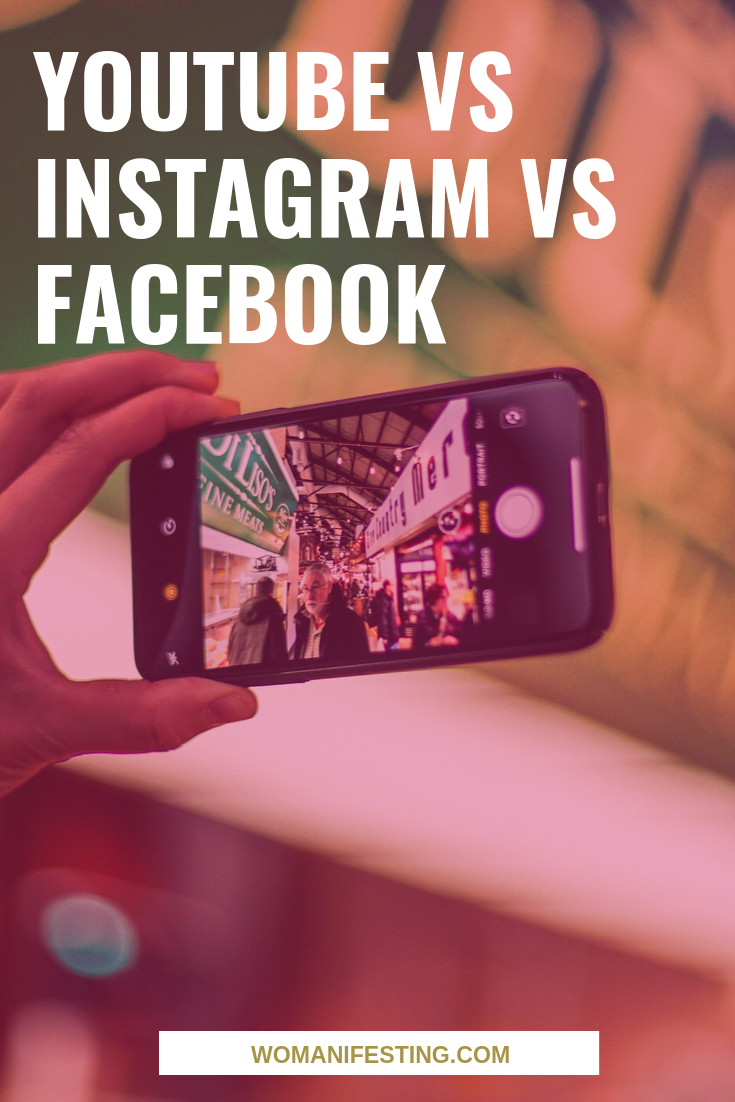 YouTube vs Instagram vs Facebook