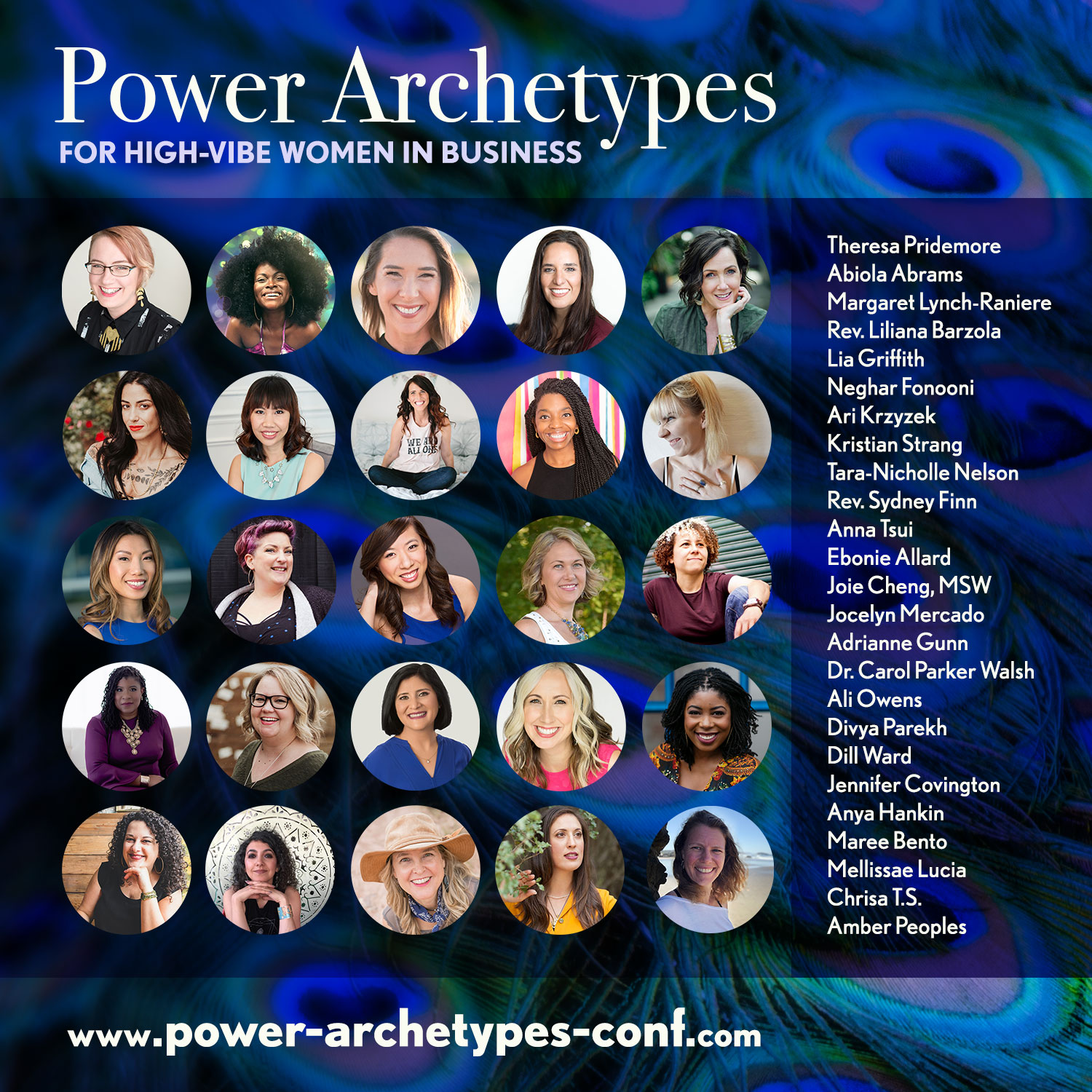 power archetypes pridemore conference