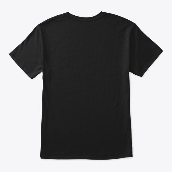 Black T-shirt Back