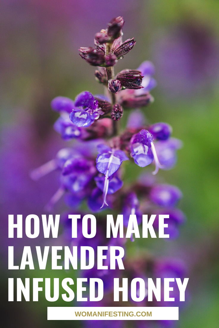 How to Make Lavender Infused Honey (1)