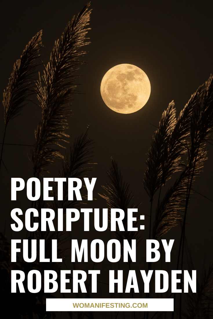 Poetry Scripture: Full Moon by Robert Hayden [Video]