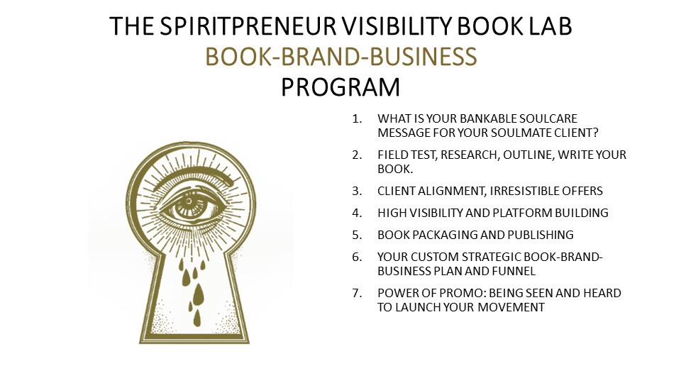 Spiritpreneur Book Lab for Coaches