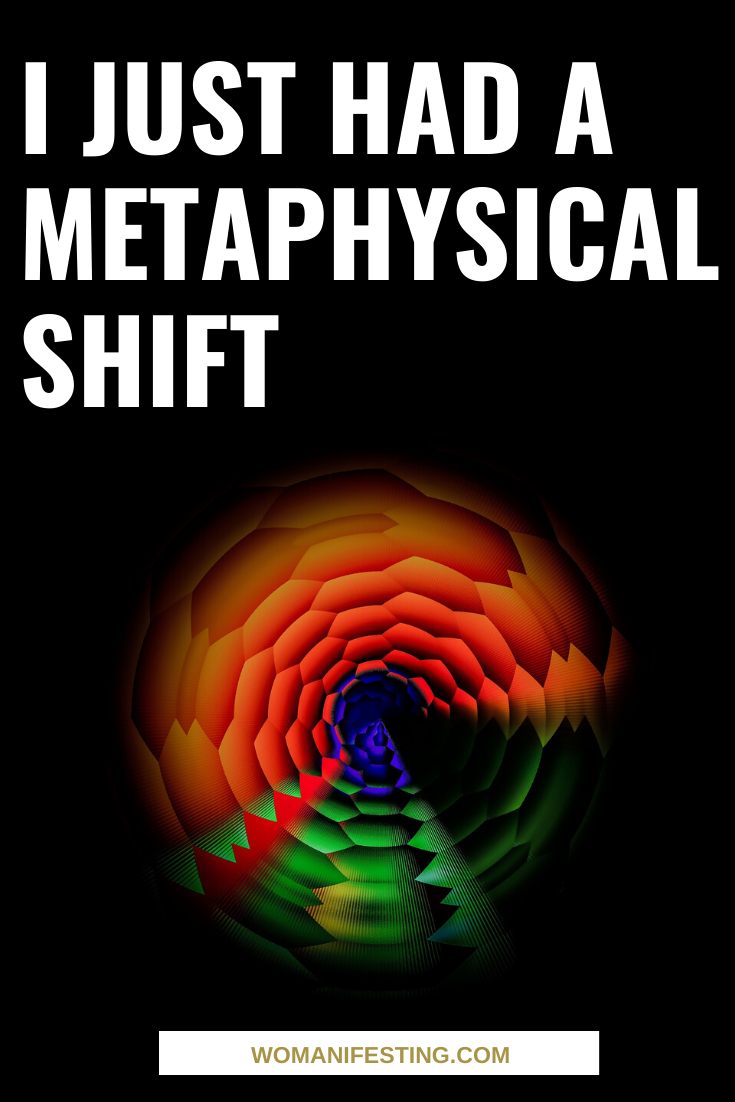 I Just Had A Metaphysical Shift: EFT Tapping Meditation