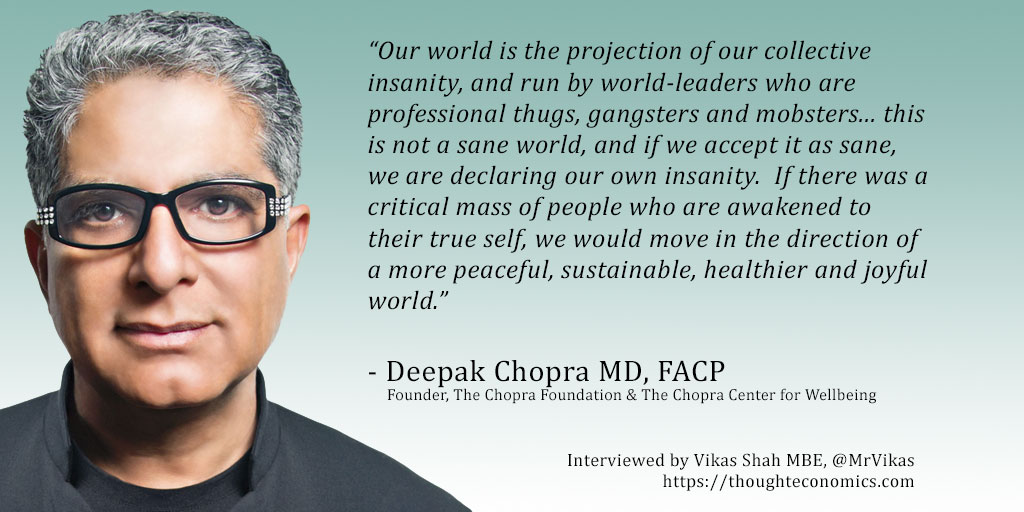 5 Things Deepak Chopra Recommends During Social Distancing [Video]