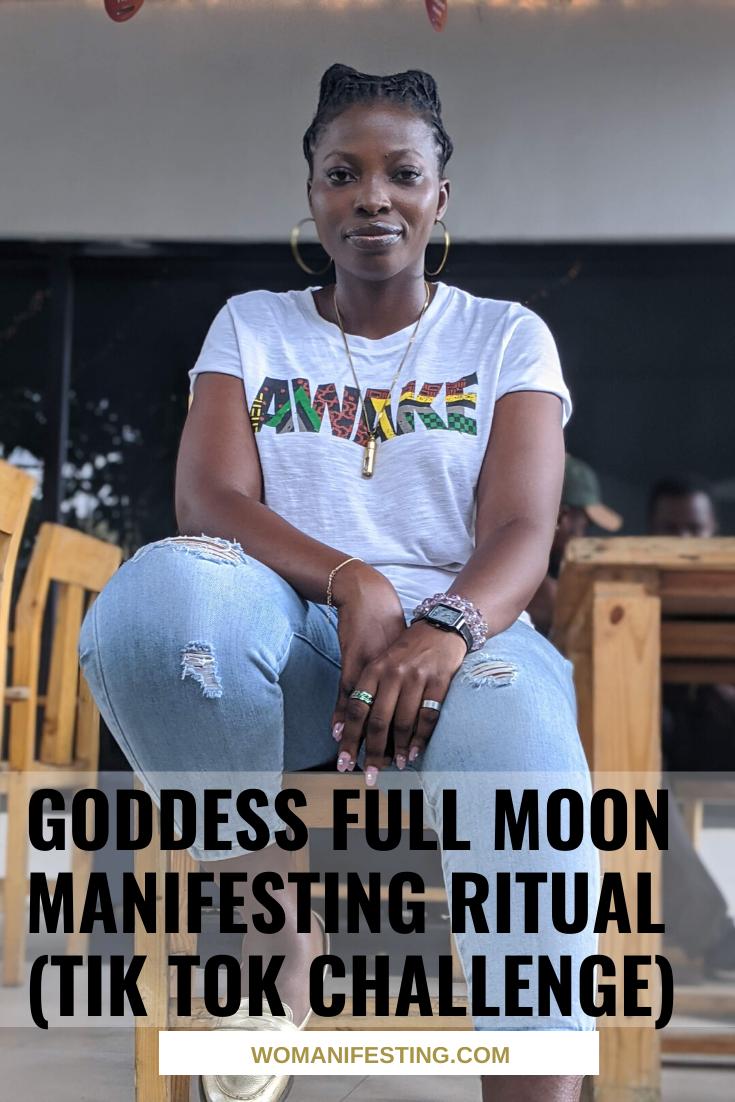 Goddess Full Moon Manifesting Ritual (Tik Tok Challenge) (1)