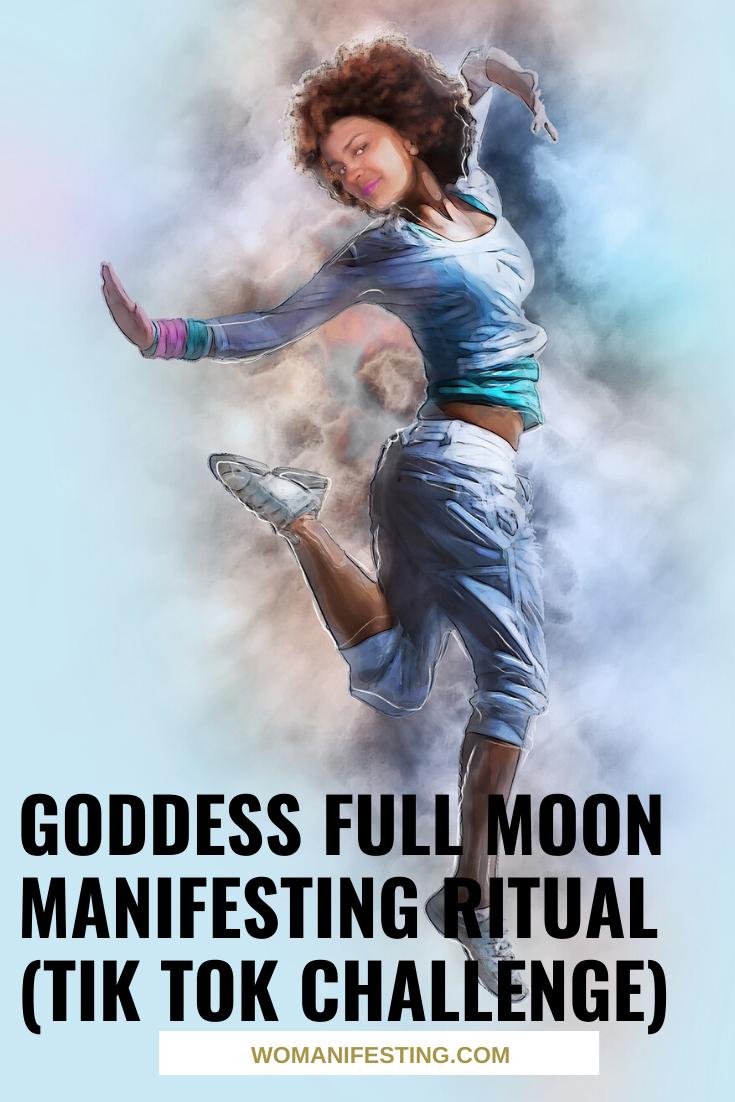 Goddess Full Moon Manifesting Ritual (Tik Tok Challenge)