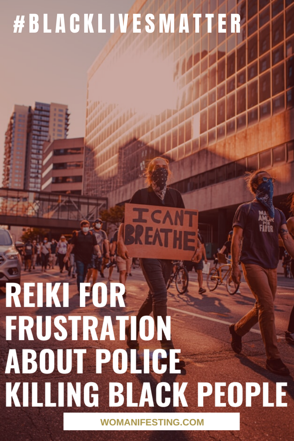Reiki for Frustration About Police Killing Black People Black Lives Matter