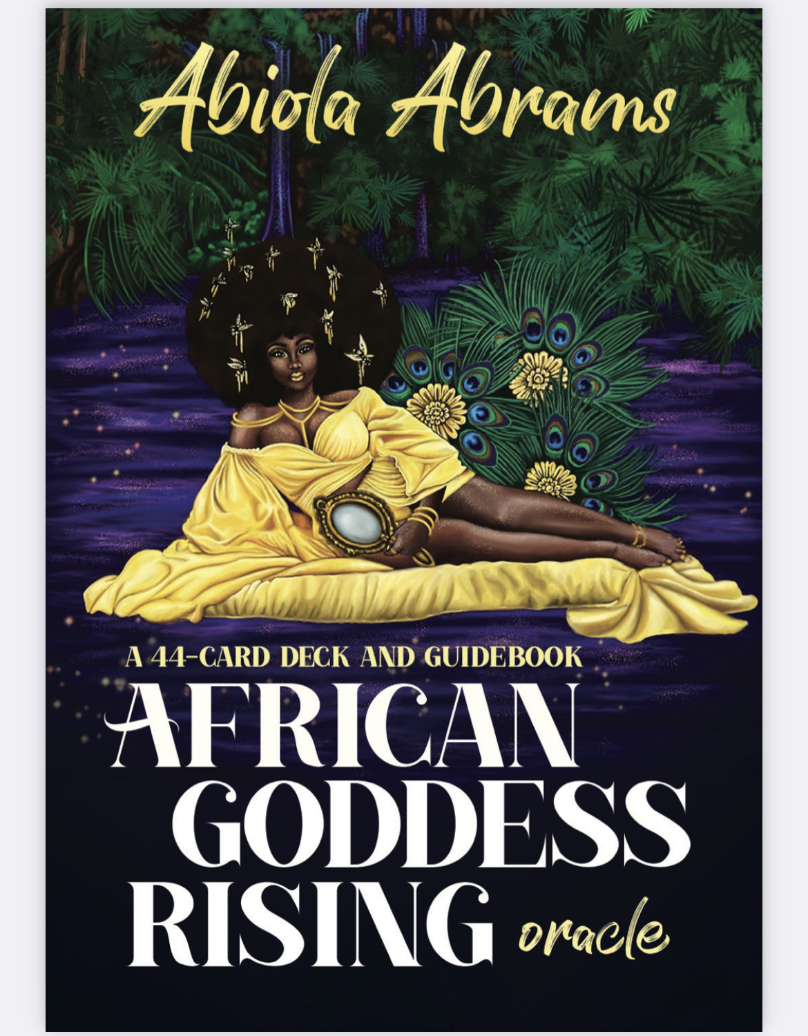 African Goddess Rising Oracle Cards Box Cover