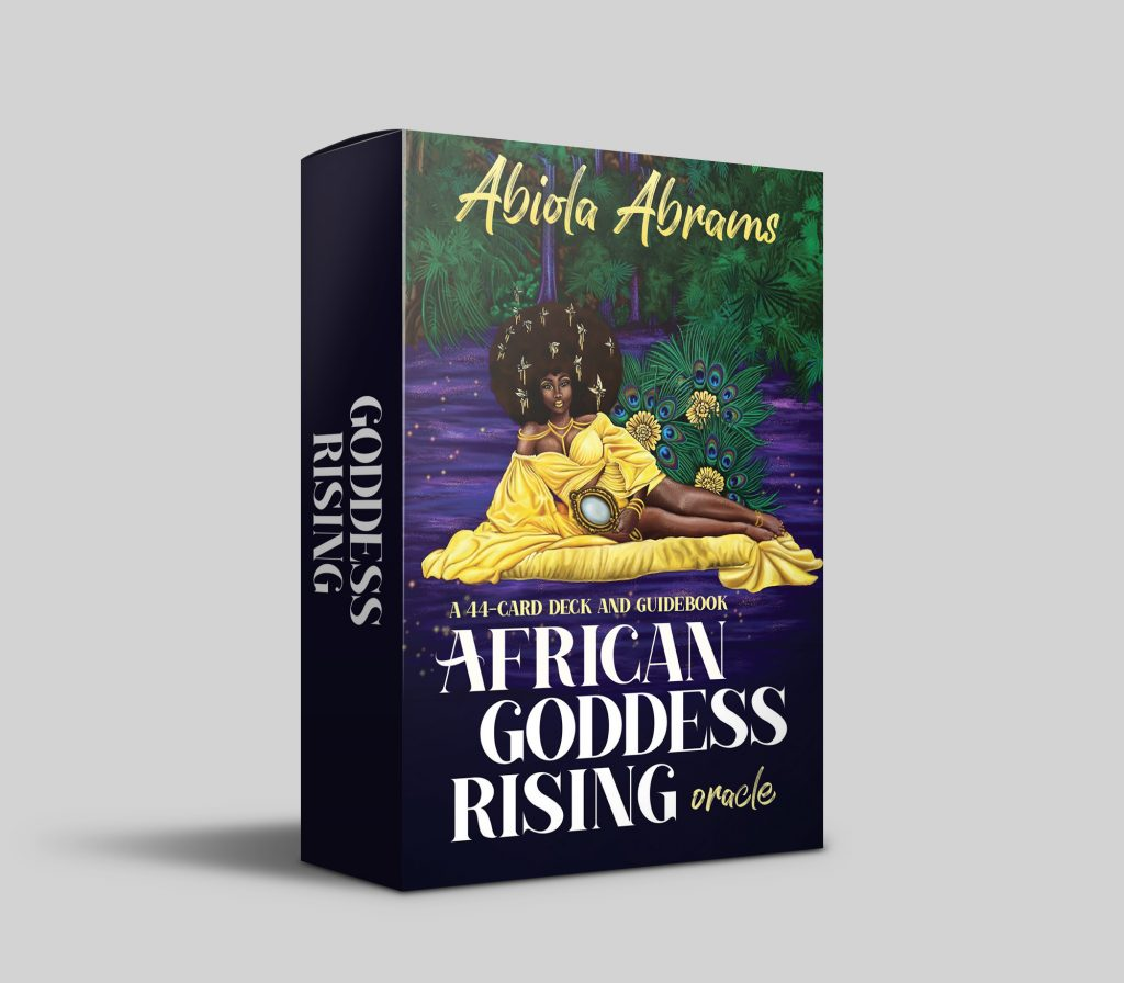 African Goddess Rising Cards