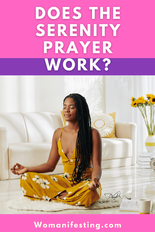 Does the Serenity Prayer Work?