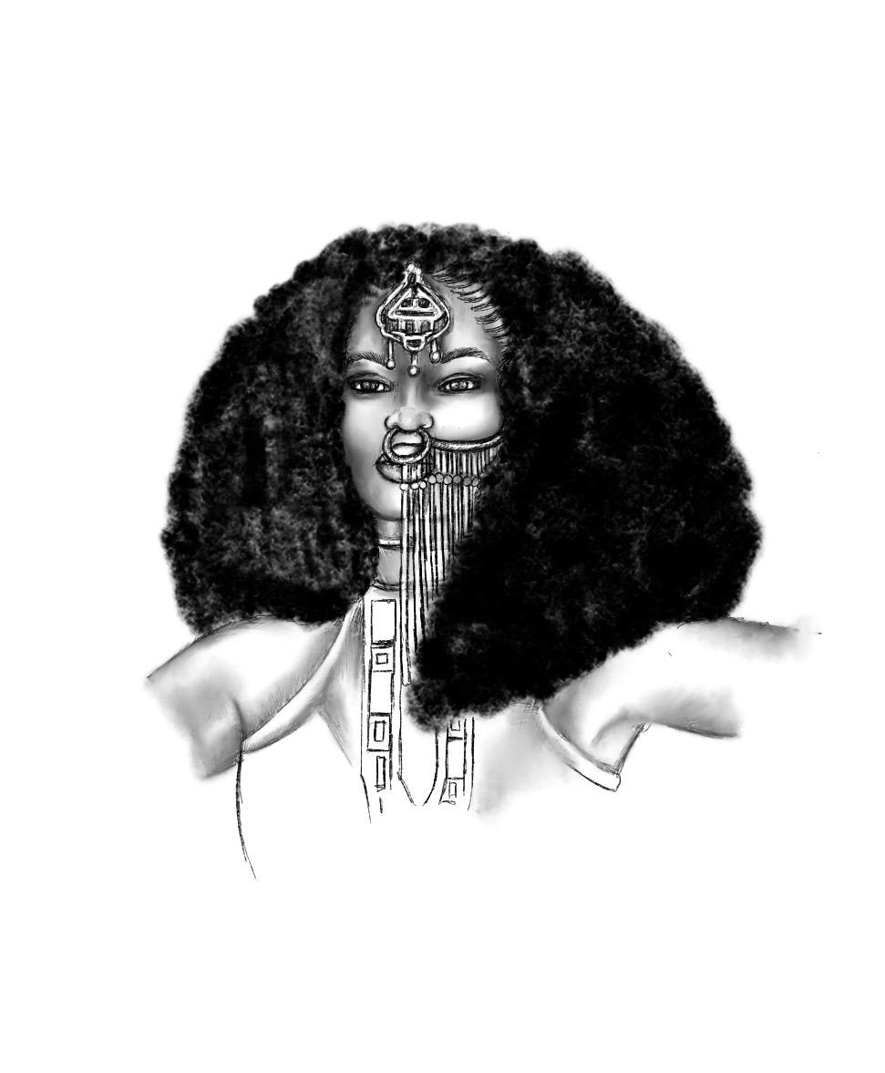 Queen Makeda by Abiola Abrams