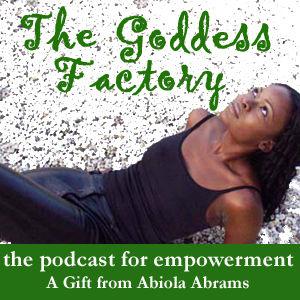 Goddess Temple Abiola Podcast Reviews - Goddess Factory logo