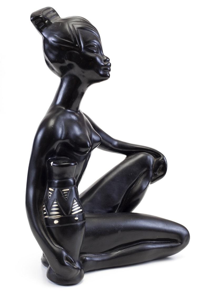 African Goddess Statue