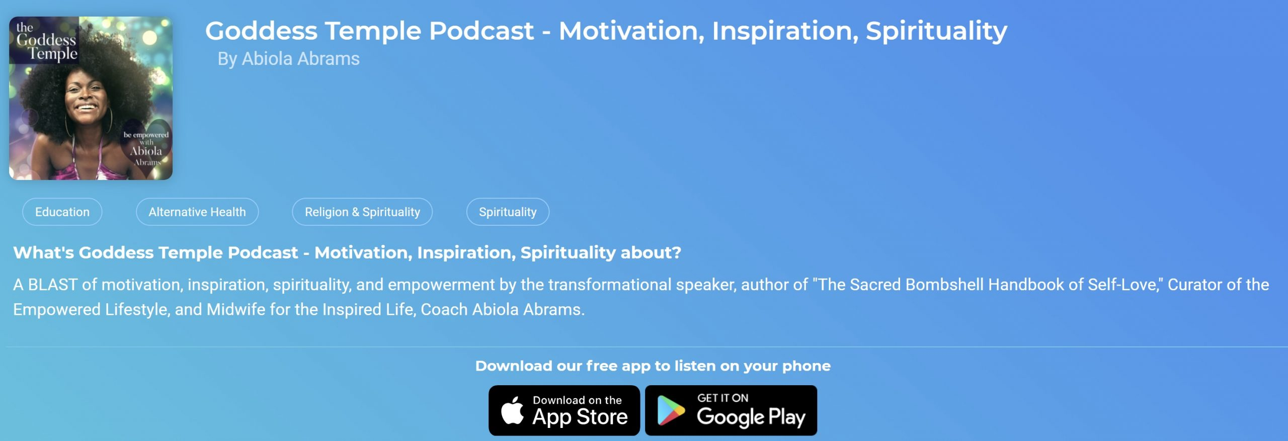 Spiritual Podcast for Women