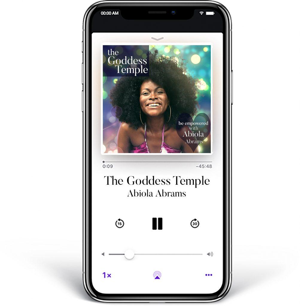 Goddess Temple Abiola Podcast  - African Goddess Hay House Author