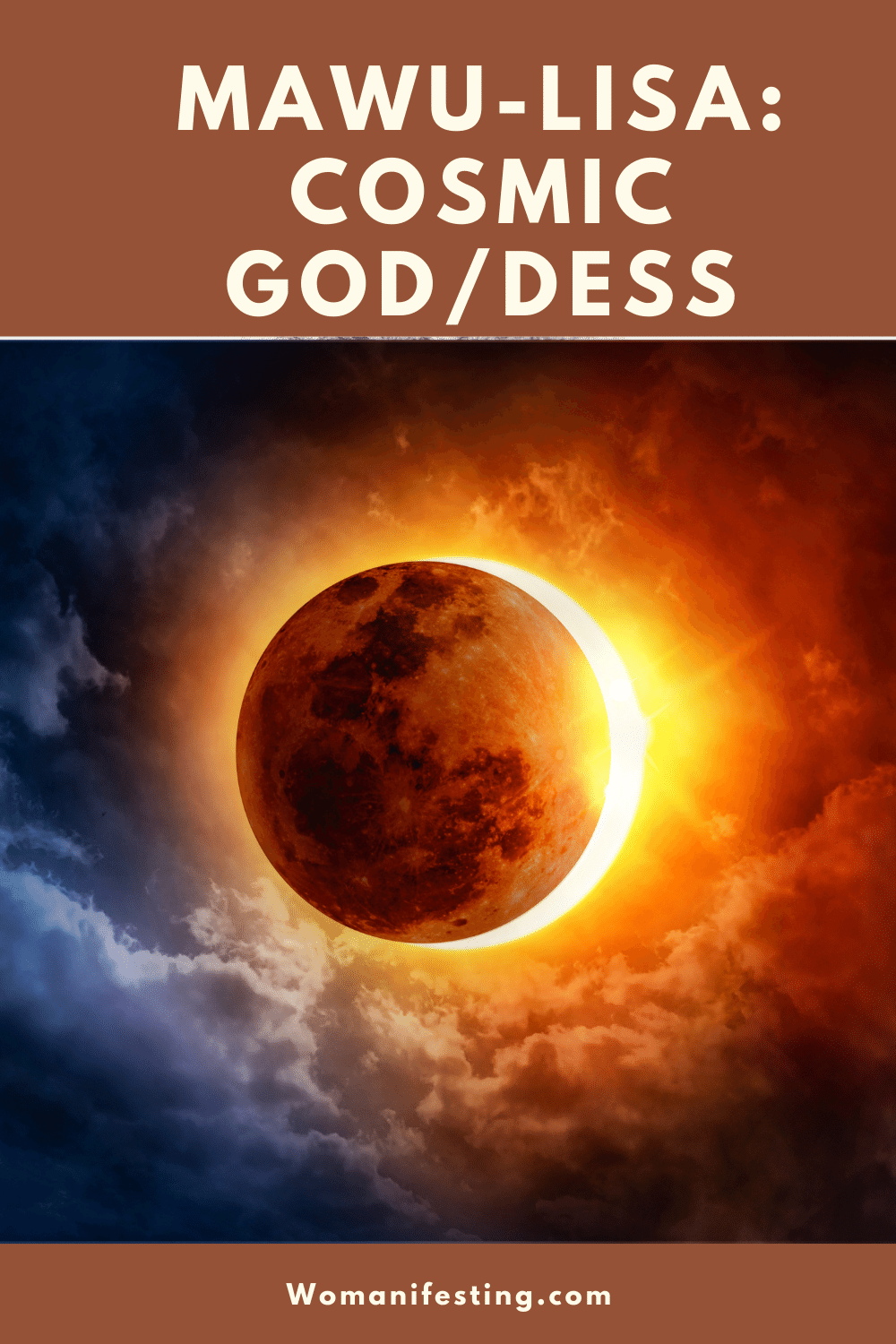 Meet God/dess Mawu: Enter Your Goddess Temple Meditation Program
